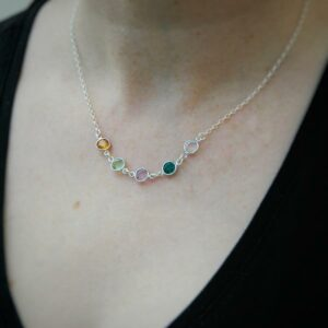 5-Multiple-family-birthstones-necklace-Gift-boxed-from-Ireland