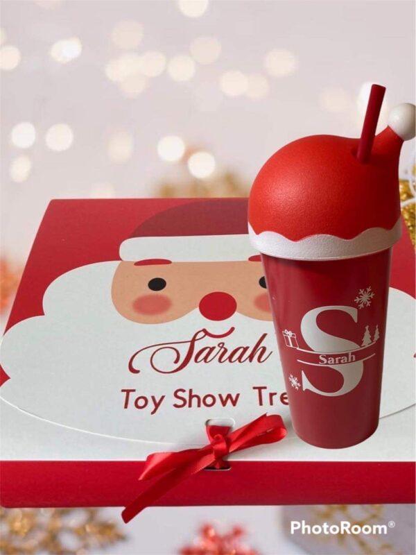 Santa box and cup